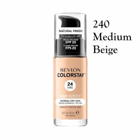 Revlon Colorstay Foundation 240 Medium Beige