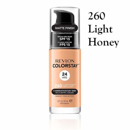 Revlon Colorstay Foundation 260 Light Honey