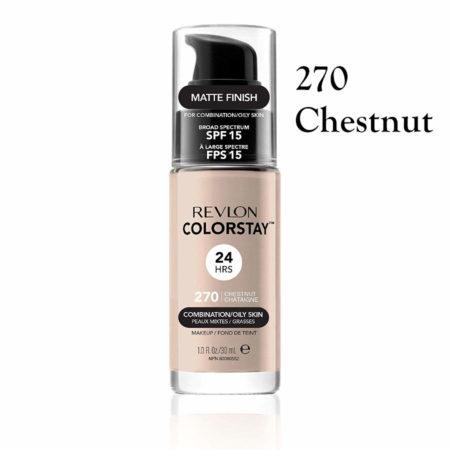 Revlon Colorstay Foundation 270 Chestnut