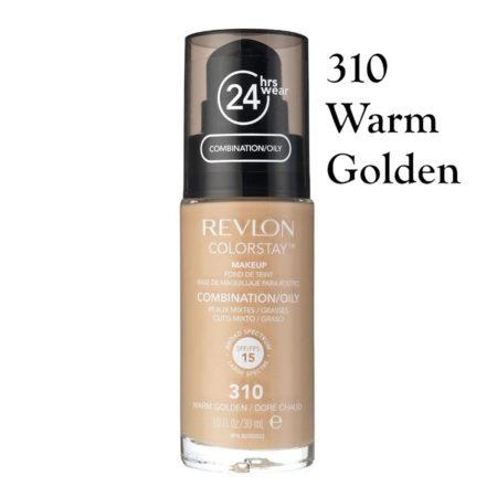 Revlon Colorstay Foundation 310 Warm Golden