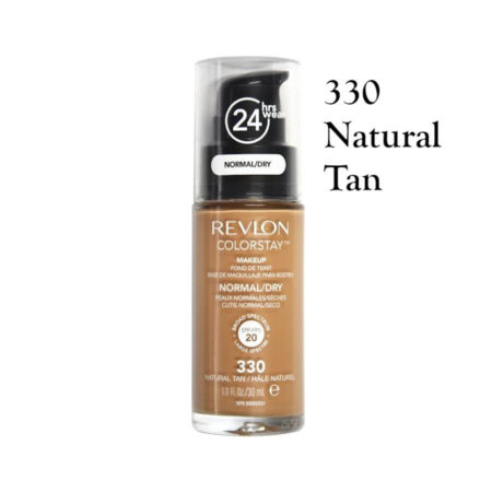 Revlon Colorstay Foundation 330 Natural Tan