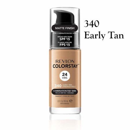 Revlon Colorstay Foundation 340 Early Tan
