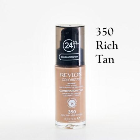 Revlon Colorstay Foundation 350 Rich Tan