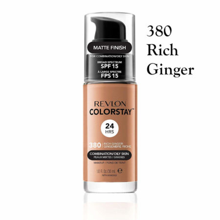 Revlon Colorstay Foundation 380 Rich Ginger