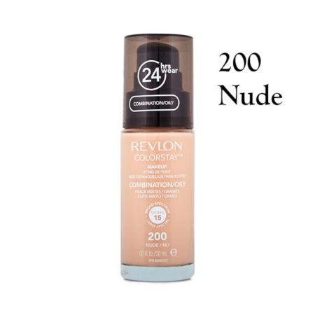 Revlon Colorstay Foundation 200 Nude Combination Oily Skin