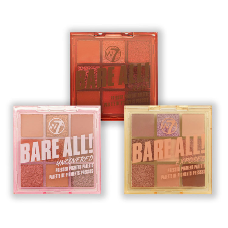 w7 bare all bundle palettes