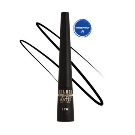 Milani Stay Put Matte Eyeliner Black Waterproof