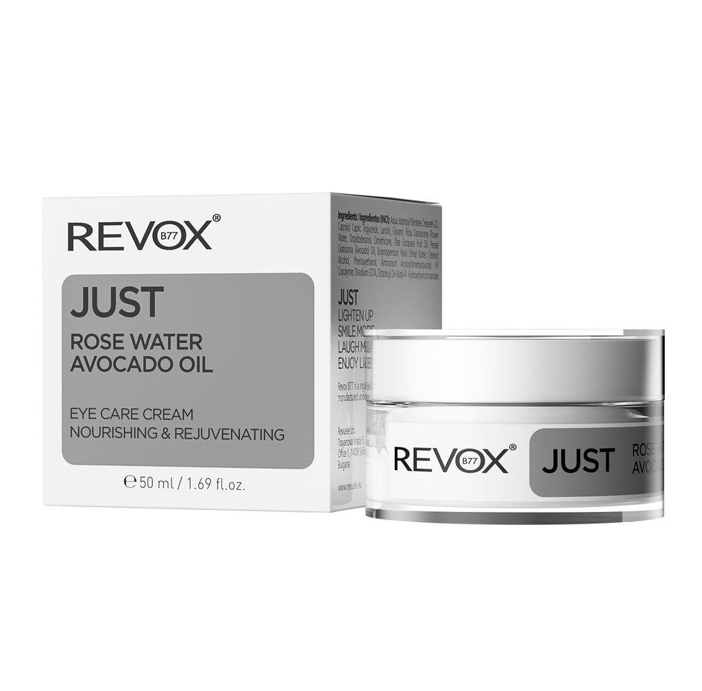 Revox Just Rose Water Avocado Oil Eye Care Cream