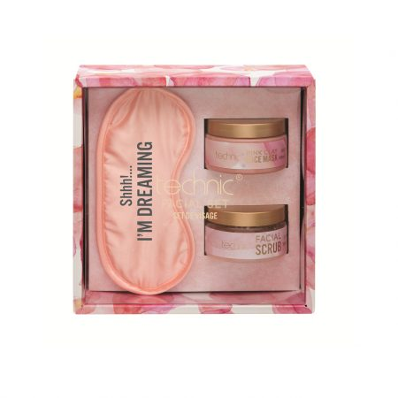 Technic SS20 Facial Set Pink Clay Mask