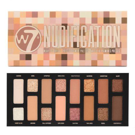 W7 Nudification Pressed Pigment Palette