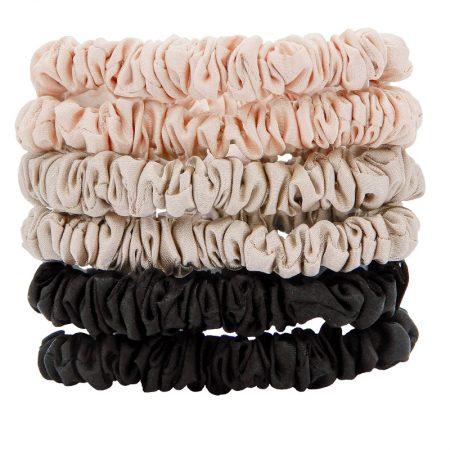 W7 Silky Knots Hair Scrunchies 6 Pack