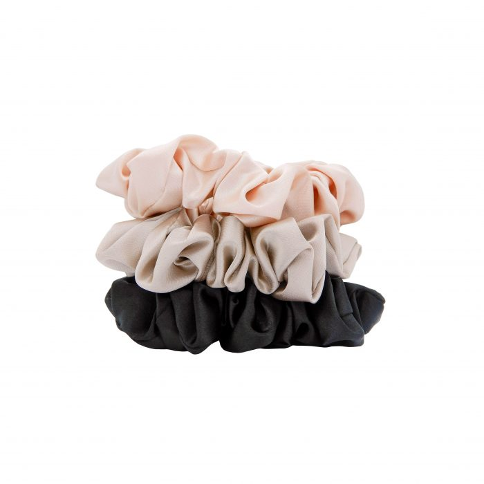 W7 Silky Knots Hair Scrunchies 3 Pack