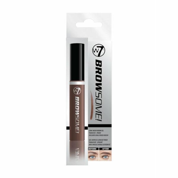 W7 Browsome Longwear Eyebrow Gel Dark Brown