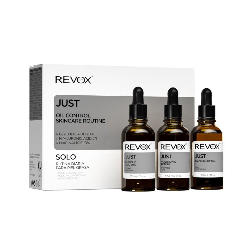 Revox Oil Control Skincare Routine Set