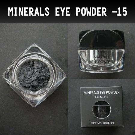 #15 Mineral Pigment (Black/Siver)