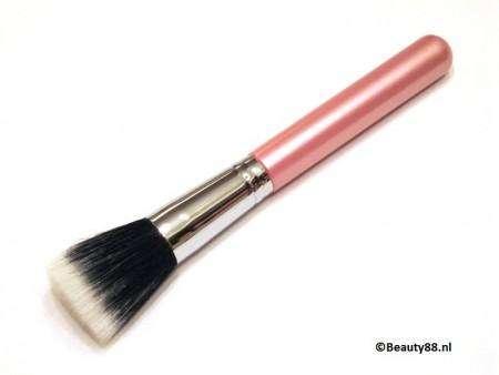 Flat Top (Buffer) / Stippling Brush (Pink)