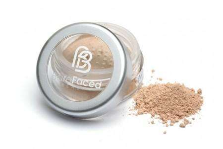 Barefaced Beauty Mineral Foundation KISSED