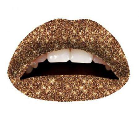 Violent Lips Tattoo : Cinnamon Glitteratti