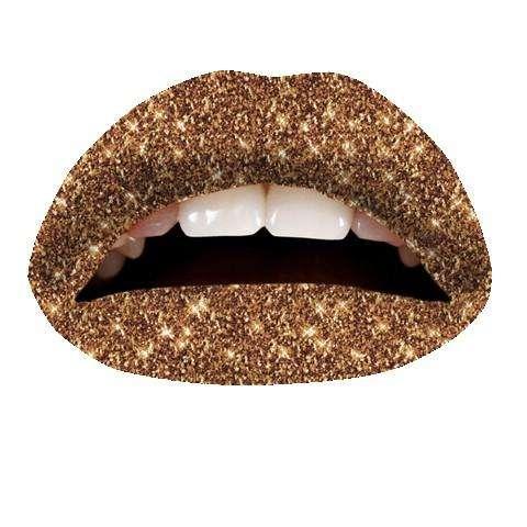 Violent Lips Tattoo : Cinnamon Glitteratti