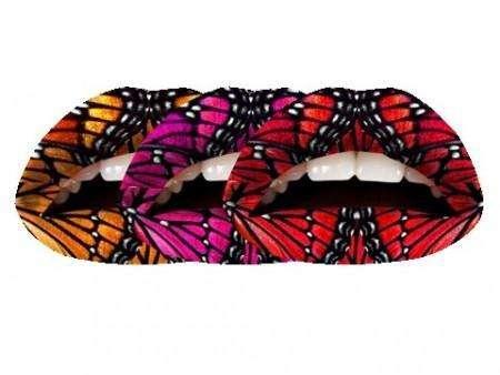 Violent Lips Tattoo : Butterflies
