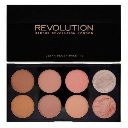 Makeup Revolution Ultra Blush and Contour Palette-Hot Spice