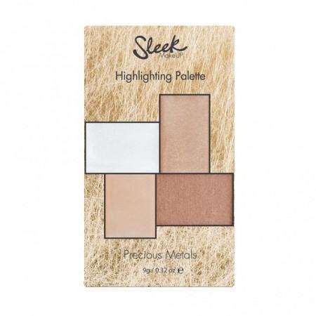 Sleek – Precious Metals Highlighting Palette