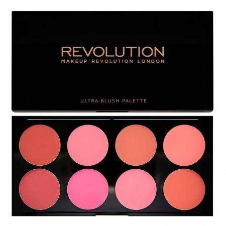 Makeup Revolution Ultra Blush Palette - All About Cream
