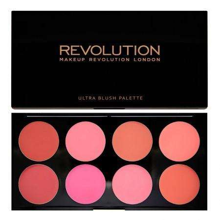 Makeup Revolution Ultra Blush Palette - All About Cream