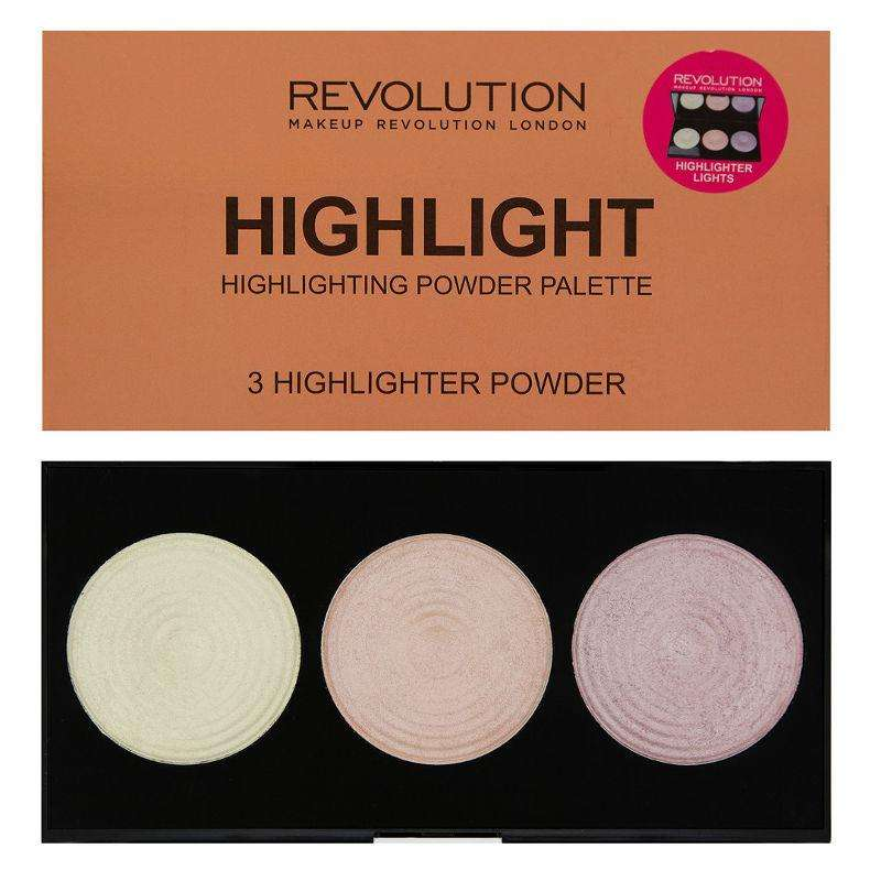 Makeup Revolution Highlighter Palette Highlight