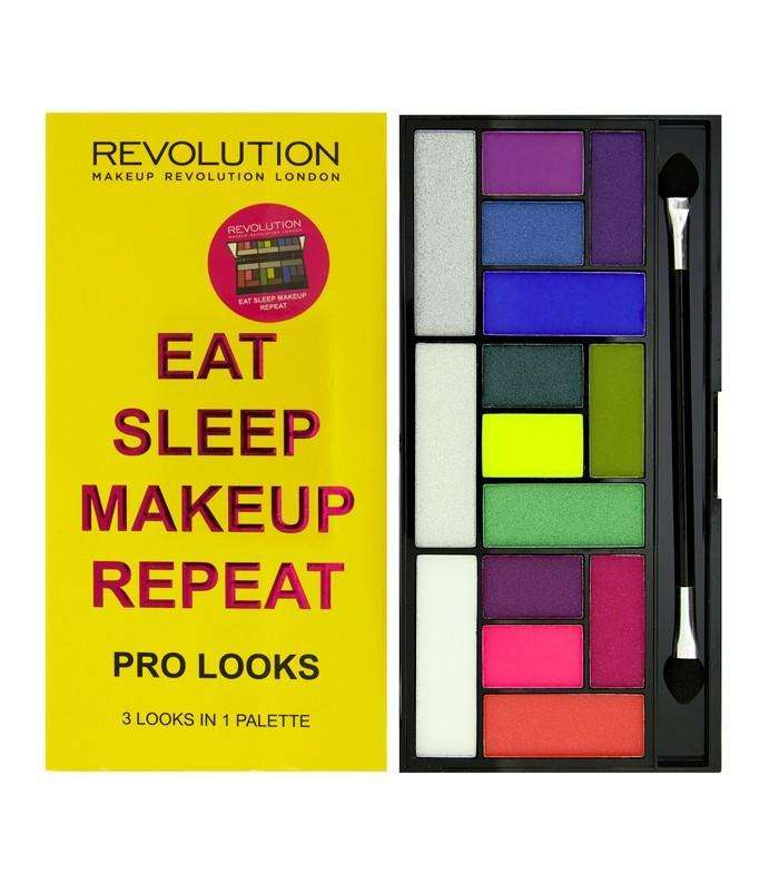 Makeup Revolution Pro Looks Eat Sleep Makeup Repeat