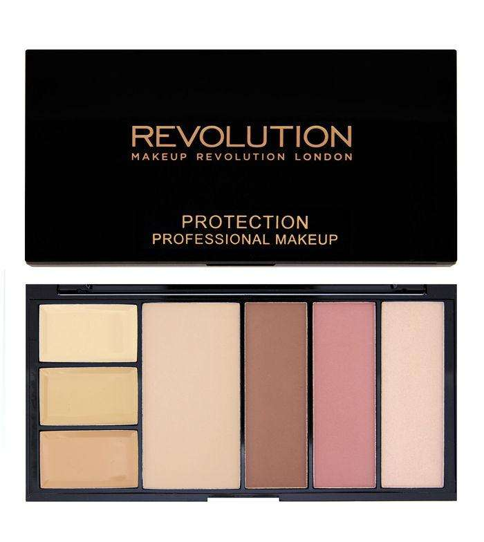 Makeup Revolution PROTECTION Palette Light/Medium