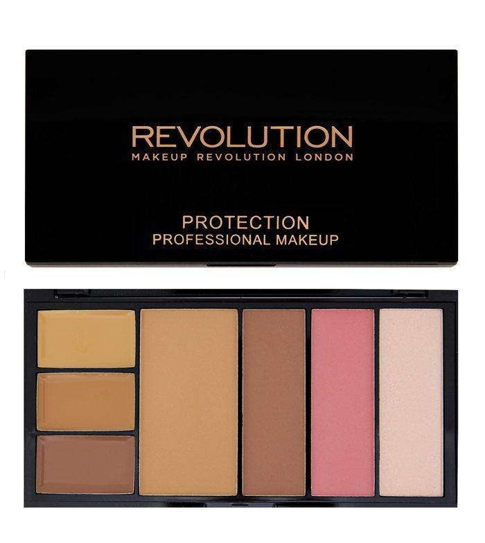 Makeup Revolution PROTECTION Palette Medium/Dark