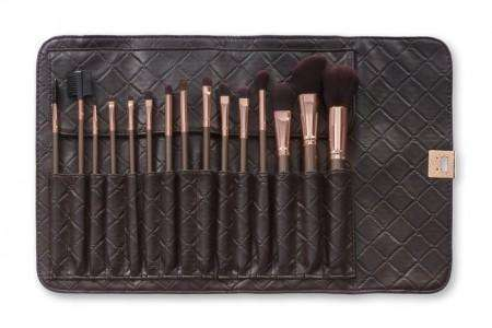 BH Cosmetics 15 Rose Gold Brush Set