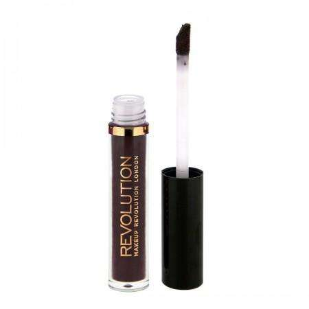 Makeup Revolution Salvation Velvet Lip Lacquer Black Heart