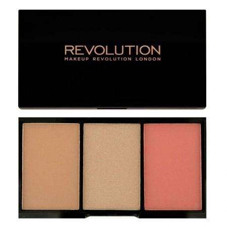 Makeup Revolution Iconic Blush, Bronze & Brighten RAVE