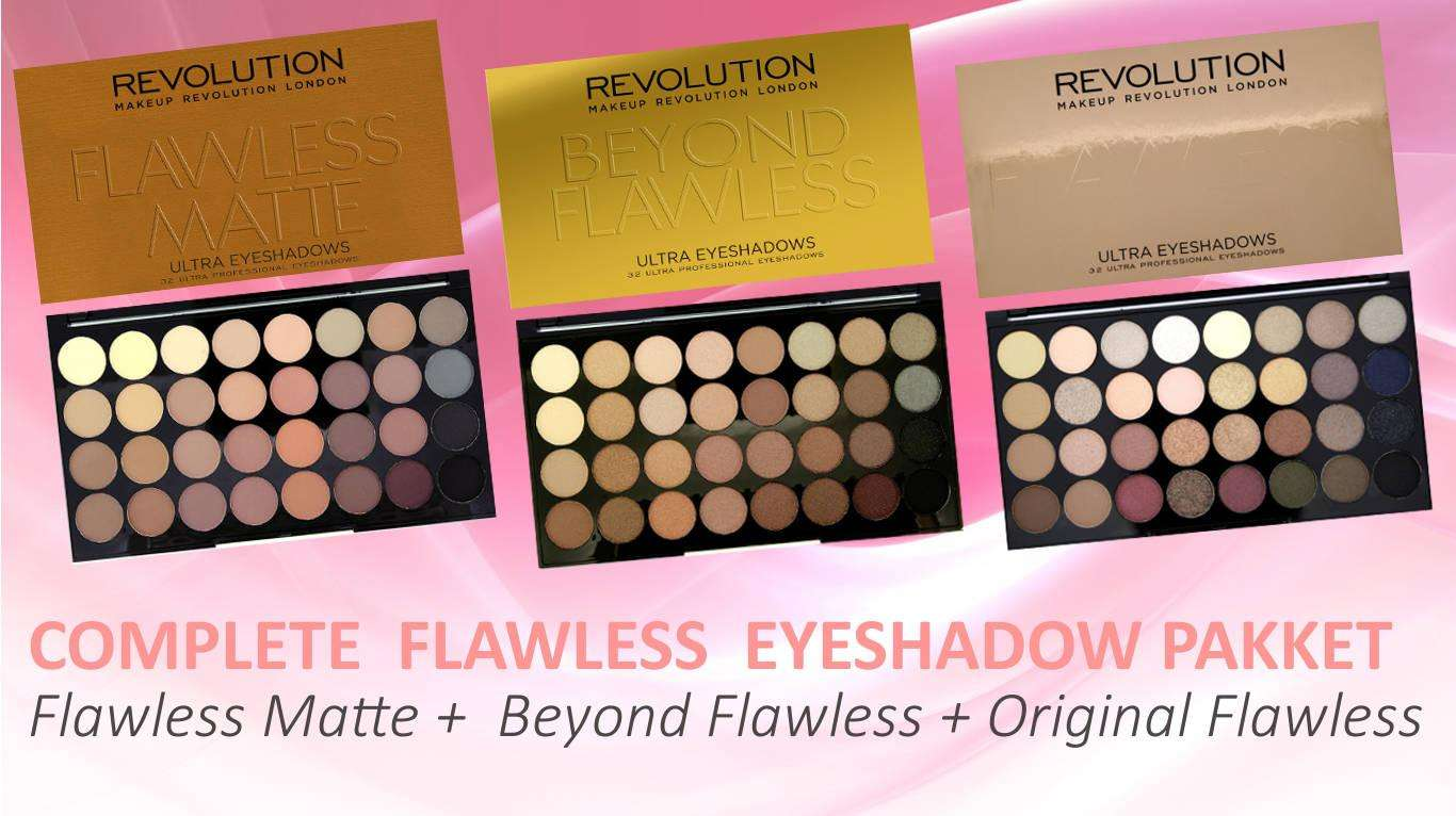 SET DEAL - Makeup Revolution COMPLETE FLAWLESS Pakket