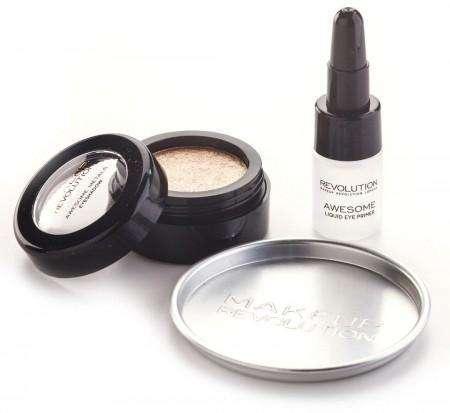 Makeup Revolution Awesome Metals Eye Foils Rose Gold