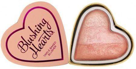 I Heart Makeup Hearts Blusher Peachy Pink Kisses