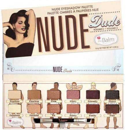 The Balm Eyeshadow Palette Nude Dude