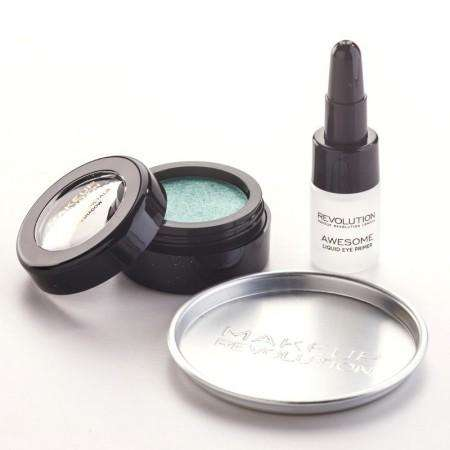 Makeup Revolution Awesome Metals Eye Foils Emerald Goddess
