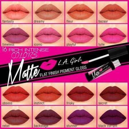 LA GIRL Matte Pigment Gloss (16 kleuren)