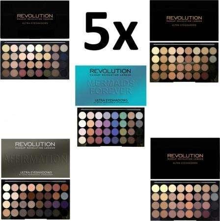SET DEAL - 5x Makeup Revolution 32 Palettes