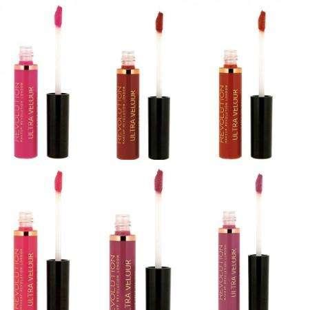 SET DEAL - Makeup Revolution Ultra Velour Lip Cream (6x)