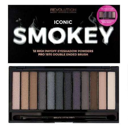Makeup Revolution Iconic SMOKEY Palette