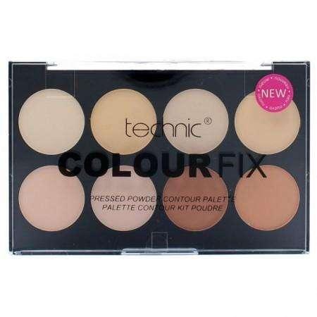 TECHNIC Colourfix PRESSED POWDER Contour Palette