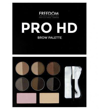 Freedom Pro HD Brow Palette Medium - Dark
