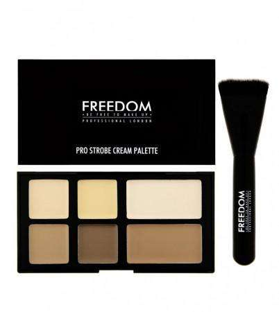 Freedom Pro CREAM Strobe Palette with Brush