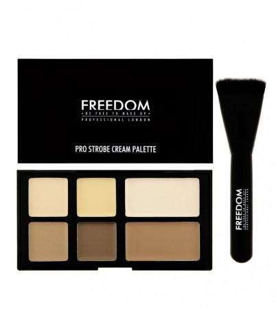 Freedom Pro CREAM Strobe Palette with Brush